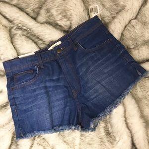Forever 21 Shorts - 🆕<Forever 21> High Waist Denim Shorts